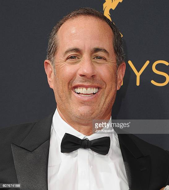 Actor Jerry Seinfeld arrives at the 68th Annual Primetime Emmy Awards at Microsoft Theater on September 18 2016 in Los Angeles California