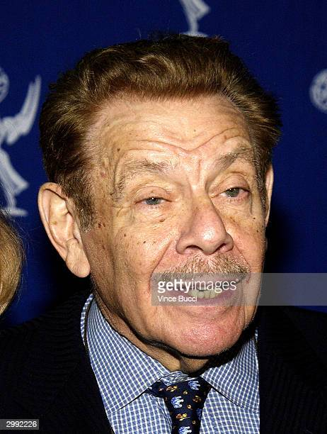 "Actor Jerry Stiller attends The Academy of Television Arts and Sciences presentation of ""Behind the Scenes of King of Queens"" on February 17, 2004 in..."