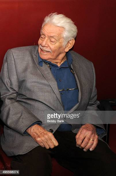 Actor Jerry Stiller attends the Charlotte Rae book signing of The Facts of My Life at Sardi's on November 3 2015 in New York City