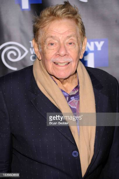 Actor Jerry Stiller attends the NY1 20th Anniversary party, in celebration of two decades of the New York City news channel at New York Public...