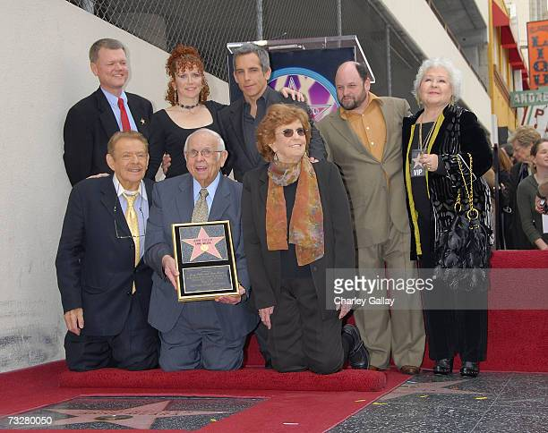 Actor Jerry Stiller Honorary Mayor of Hollywood Johnny Grant and Anne Meara celebrate as actors Jerry Stiller and Anne Meara receive a star on the...