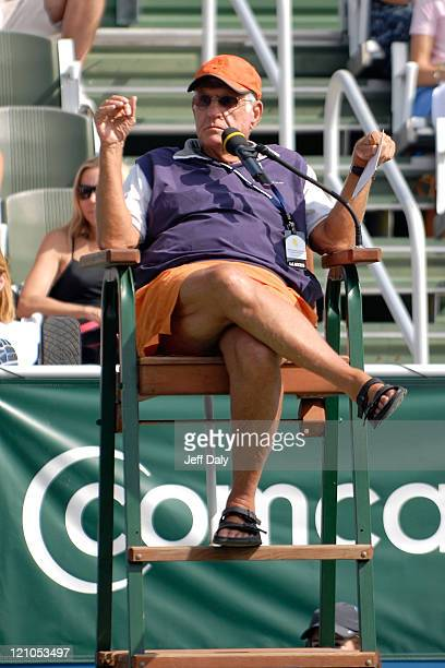 Actor Jerry Van Dyke attends the Chris Evert/Raymond James Pro Celebrity Tennis Classic on November 03 2007 in Delray Beach Florida