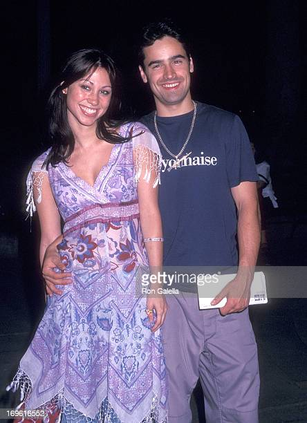 Actor Jesse Bradford and girlfriend Diane Gaeta attend the Mr Deeds New York City Premiere on June 18 2002 at Loews Lincoln Square Theatres in New...