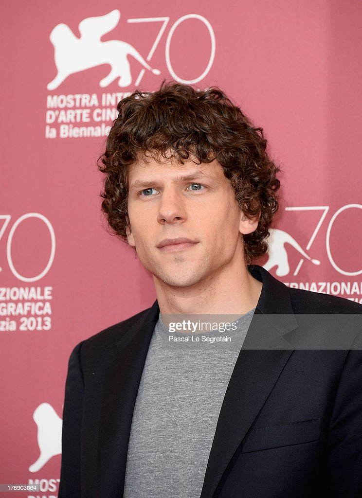 Actor Jesse Eisenberg attends 'Night Moves' Photocall during the 70th Venice International Film Festival at the Palazzo del Casino on August 31, 2013 in Venice, Italy.