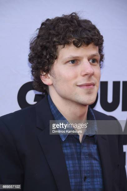 Actor Jesse Eisenberg attends the Groundhog Day Broadway Opening Night at August Wilson Theatre on April 17 2017 in New York City