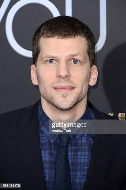 Actor Jesse Eisenberg attends the 'Now You See Me 2' world premiere at AMC Loews Lincoln Square 13 theater on June 6 2016 in New York City