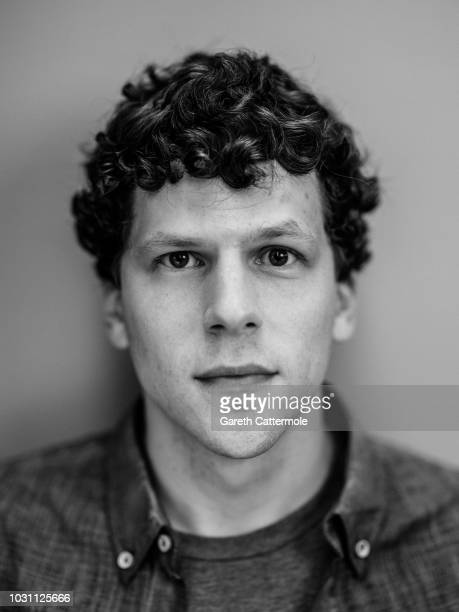 Actor Jesse Eisenberg from the film 'The Hummingbird Project' poses for a portrait during the 2018 Toronto International Film Festival at...