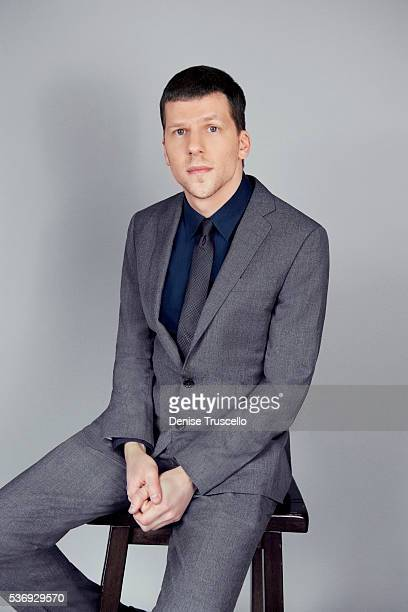 Actor Jesse Eisenberg is photographed at CinemaCon 2015 on April 12 2016 in Las Vegas Nevada