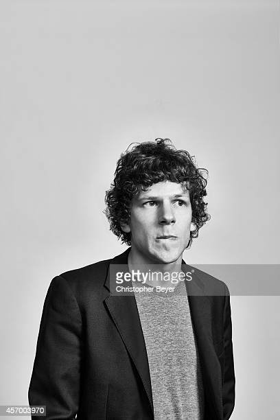 Actor Jesse Eisenberg is photographed for Entertainment Weekly Magazine on January 25 2014 in Park City Utah