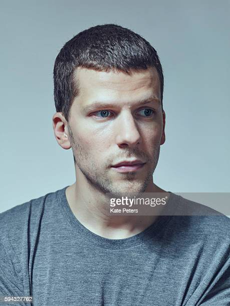 Actor Jesse Eisenberg is photographed for the Guardian on June 8 2016 in London England