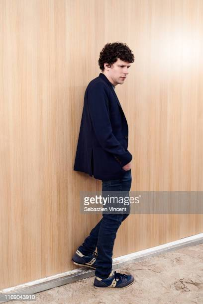 Actor Jesse Eisenberg poses for a portrait on May 19, 2019 in Cannes, France.