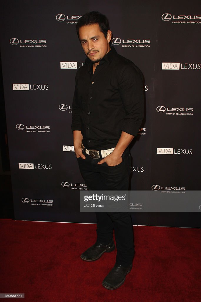Actor Jesse Garcia attends Sabor de Lujo at Vida Lexus event celebrating latino culture in Los Angeles at Sofitel Hotel on March 25, 2014 in Los Angeles, California.