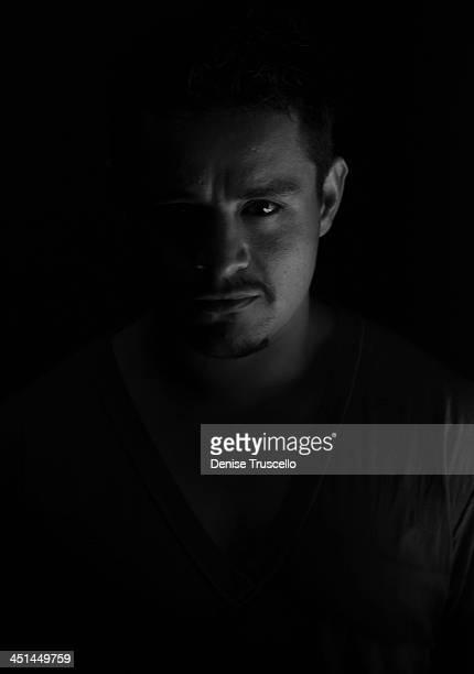 Actor Jesse Garcia Studio Photo Shoot at Casa Luca on June 12, 2009 in Las Vegas, Nevada.