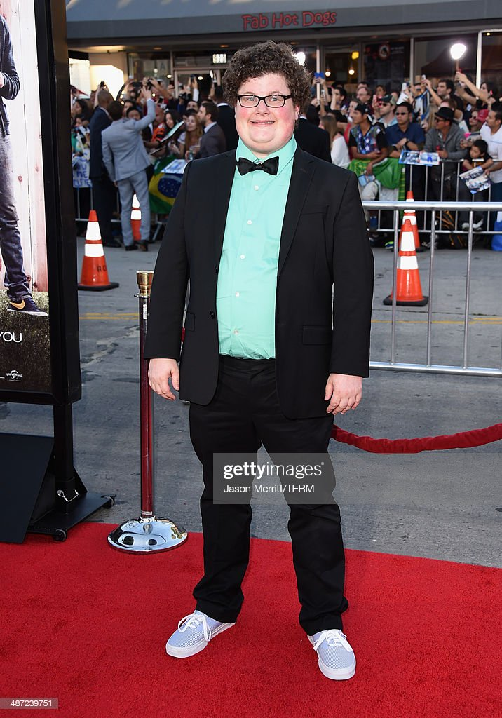Actor Jesse Heiman attends Universal Pictures' 'Neighbors' premiere at Regency Village Theatre on April 28, 2014 in Westwood, California.