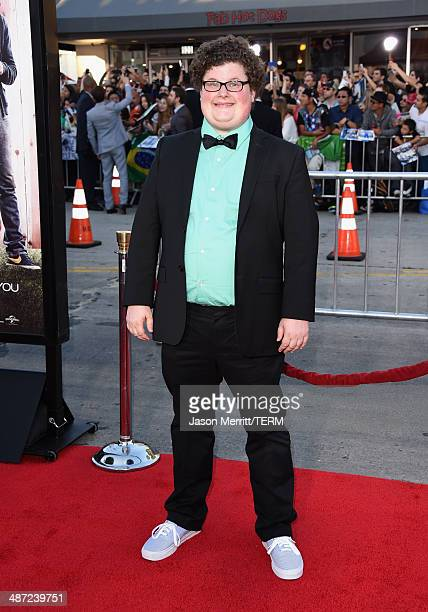 """Actor Jesse Heiman attends Universal Pictures' """"Neighbors"""" premiere at Regency Village Theatre on April 28, 2014 in Westwood, California."""