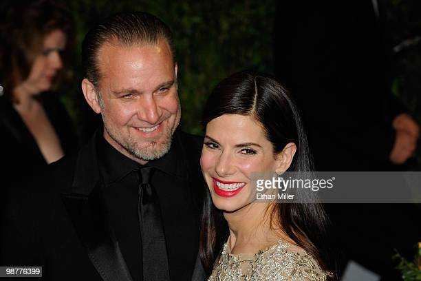 Actor Jesse James and Actress Sandra Bullock arrive at the 2010 Vanity Fair Oscar Party hosted by Graydon Carter held at Sunset Tower on March 7,...