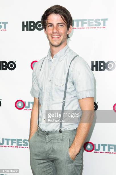 Actor Jesse James Rice arrives at 2013 Outfest Film Festival 'Big Gay Love' screening at Directors Guild Of America on July 14 2013 in Los Angeles...