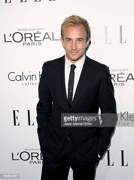 Actor Jesse Johnson attends ELLE's 20th Annual Women In Hollywood Celebration at Four Seasons Hotel Los Angeles at Beverly Hills on October 21 2013...