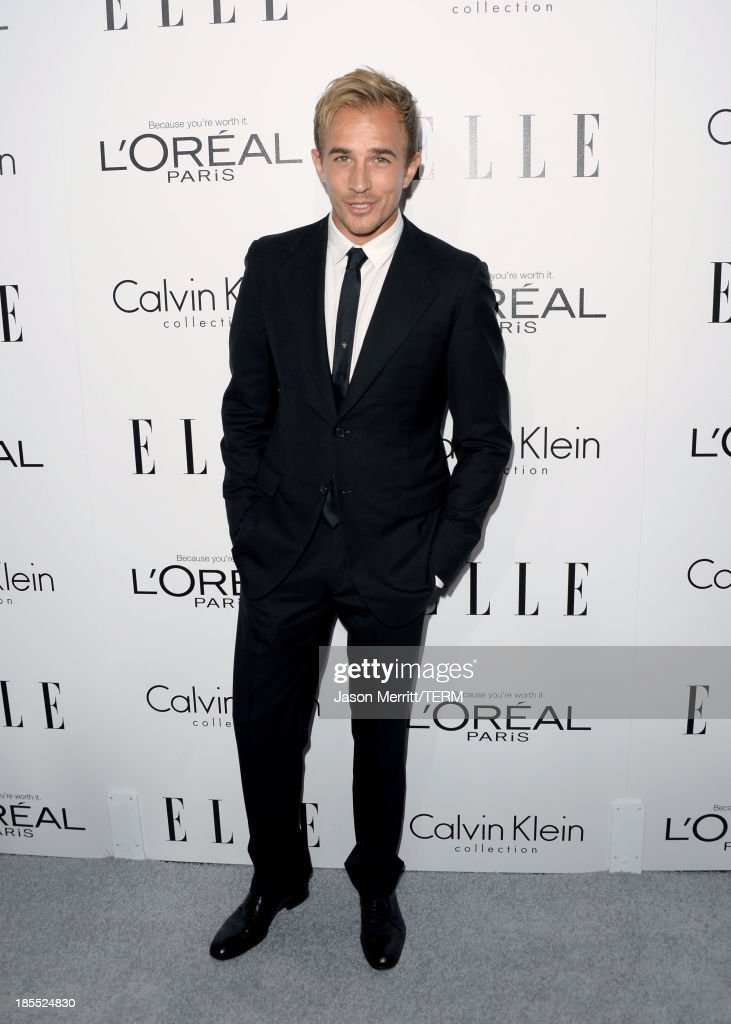 Actor Jesse Johnson attends ELLE's 20th Annual Women In Hollywood Celebration at Four Seasons Hotel Los Angeles at Beverly Hills on October 21, 2013 in Beverly Hills, California.