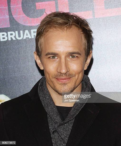 Actor Jesse Johnson attends the How To Be Single New York premiere at NYU Skirball Center on February 3 2016 in New York City