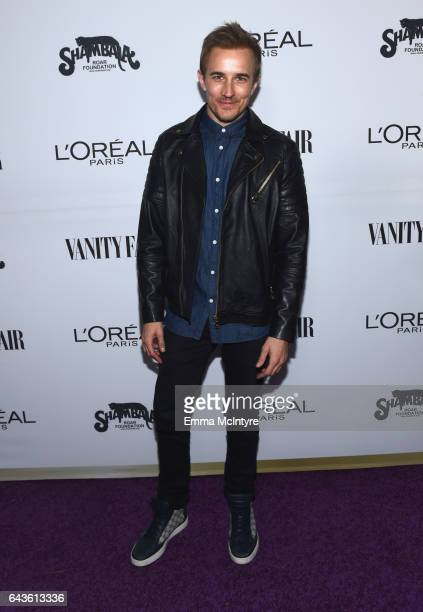 Actor Jesse Johnson attends Vanity Fair and L'Oreal Paris Toast to Young Hollywood hosted by Dakota Johnson and Krista Smith at Delilah on February...