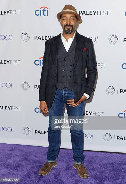 Actor Jesse L Martin arrives at The Paley Center For Media's 32nd Annual PALEYFEST LA 'Arrow' And 'The Flash' at Dolby Theatre on March 14 2015 in...