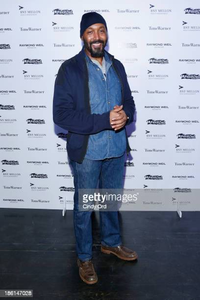 Actor Jesse L Martin attends LAByrinth Theater Company Celebrity Charades 2013 Benefit Gala on October 28 2013 in New York City