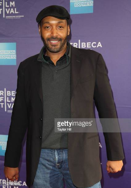 Actor Jesse L Martin attends the premiere of 'Puncture' during the 2011 Tribeca Film Festival at SVA Theater on April 21 2011 in New York City