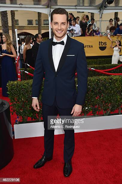 Actor Jesse Lee Soffer attends the 21st Annual Screen Actors Guild Awards at The Shrine Auditorium on January 25 2015 in Los Angeles California