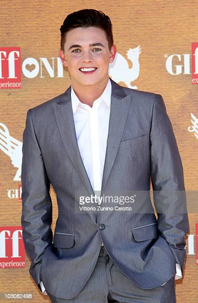 Actor Jesse McCartney attends a photocall during Giffoni Experience 2010 on July 25 2010 in Giffoni Valle Piana Italy
