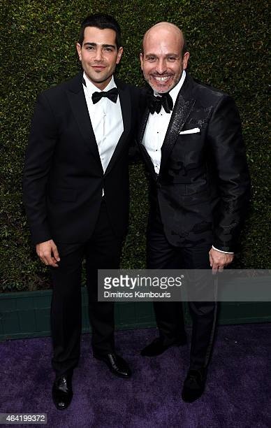 Actor Jesse Metcalfe and Alessandro Maria Ferreri attend the 23rd Annual Elton John AIDS Foundation Academy Awards Viewing Party on February 22 2015...