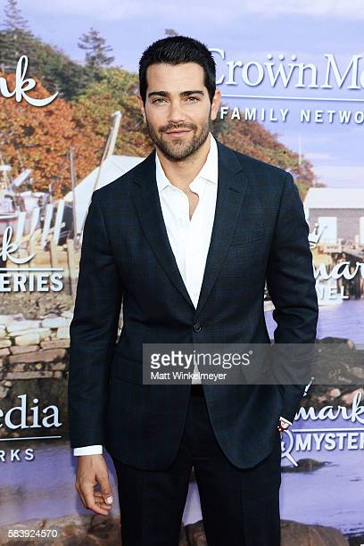 Actor Jesse Metcalfe arrives at the Hallmark Channel and Hallmark Movies and Mysteries Summer 2016 TCA Press Tour Event on July 27 2016 in Beverly...