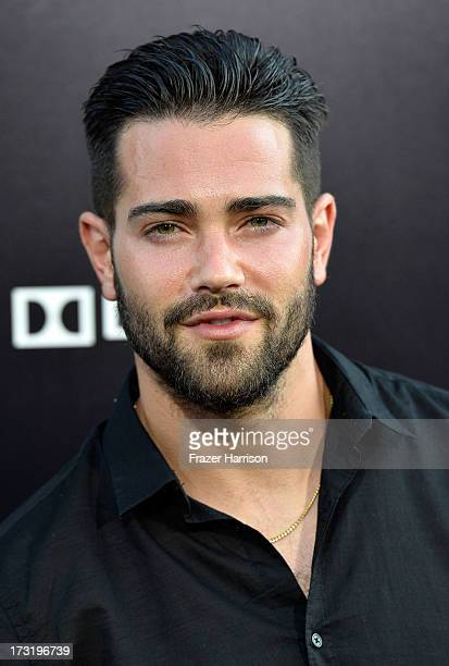 Actor Jesse Metcalfe arrives at the premiere of Warner Bros Pictures' and Legendary Pictures' 'Pacific Rim' at Dolby Theatre on July 9 2013 in...