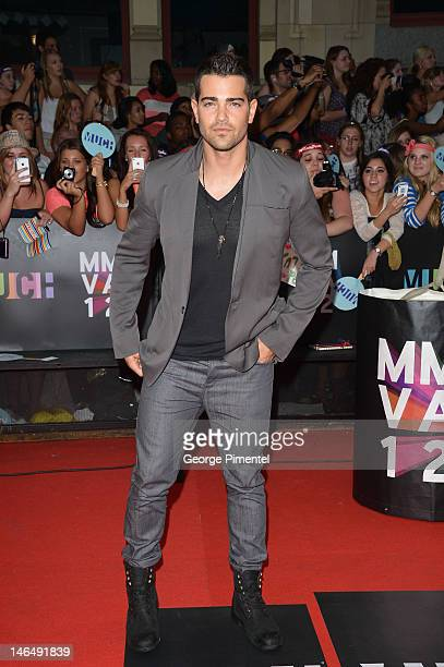 Actor Jesse Metcalfe arrives on the red carpet of the 23rd Annual MuchMusic Video Awards at MuchMusic HQ on June 17, 2012 in Toronto, Canada.