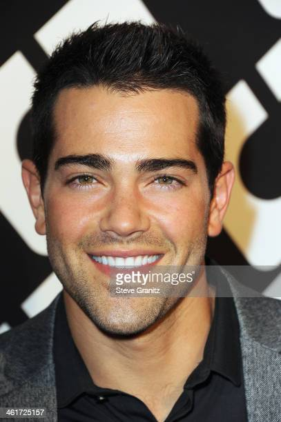 Actor Jesse Metcalfe attends Diane Von Furstenberg's 'Journey Of A Dress' Premiere Opening Party at Wilshire May Company Building on January 10 2014...