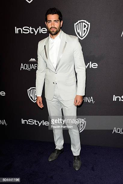 Actor Jesse Metcalfe attends InStyle and Warner Bros 73rd Annual Golden Globe Awards PostParty at The Beverly Hilton Hotel on January 10 2016 in...