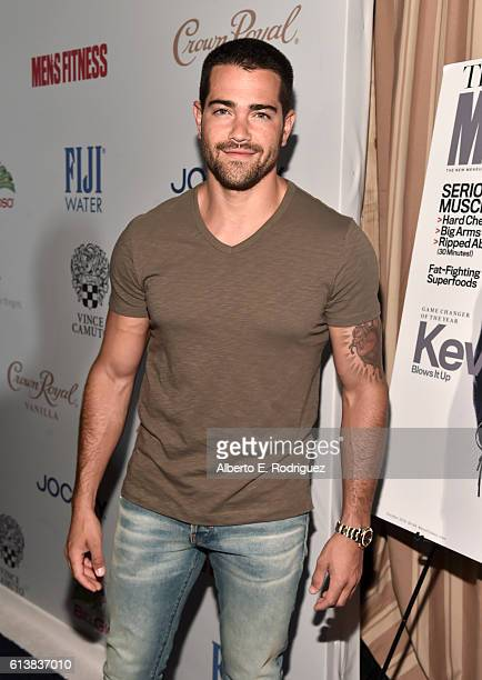 Actor Jesse Metcalfe attends MEN'S FITNESS Celebrates the 2016 GAME CHANGERS at Sunset Tower Hotel on October 10 2016 in West Hollywood California