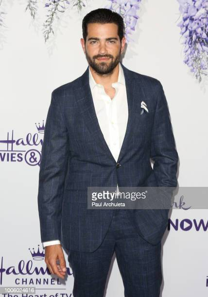Actor Jesse Metcalfe attends the 2018 Hallmark Channel Summer TCA at Private Residence on July 26 2018 in Beverly Hills California