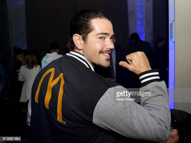 Actor Jesse Metcalfe attends the Bootsy Bellows After Party for the 'Big Game Experience' with McDonald's Mac Jr sandwiches presented by American...