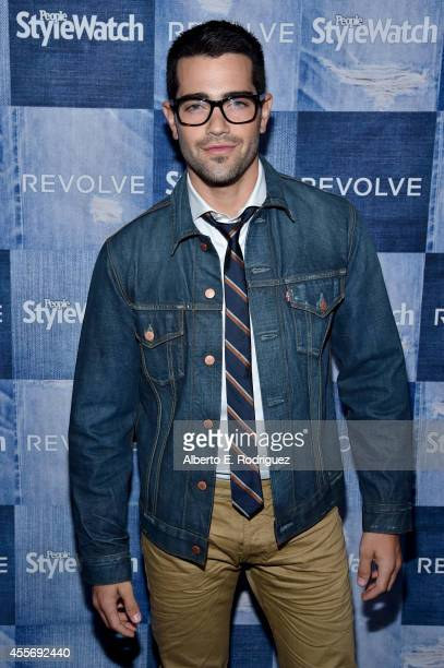 Actor Jesse Metcalfe attends the People StyleWatch Denim Event at The Line on September 18 2014 in Los Angeles California