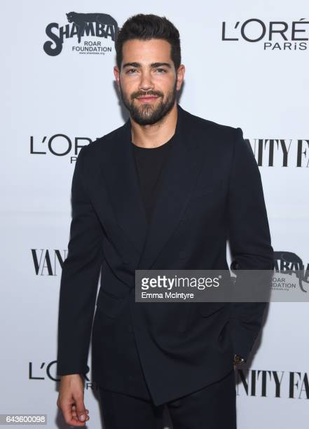 Actor Jesse Metcalfe attends Vanity Fair and L'Oreal Paris Toast to Young Hollywood hosted by Dakota Johnson and Krista Smith at Delilah on February...