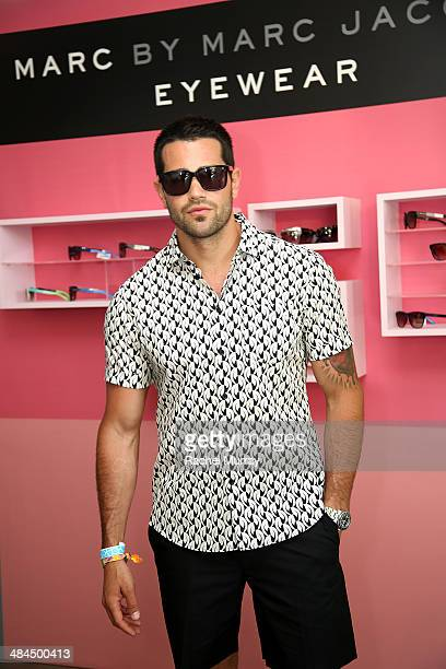 Actor Jesse Metcalfe in Marc By Marc Jacobs Eyewear at Desert Gold at Ace Hotel Swim Club presented by Marc By Marc Jacobs Eyewear on April 12 2014...