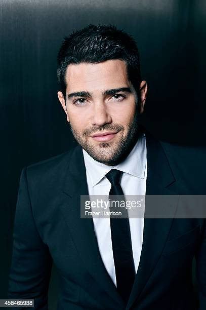 Actor Jesse Metcalfe poses for a portrait at the amfAR LA Inspiration Gala on October 29 2014 in Los Angeles California