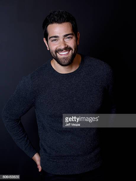 Actor Jesse Metcalfe poses for a portrait during the WireImage Portrait Studio hosted by Eddie Bauer at Village at The Lift on January 23 2016 in...