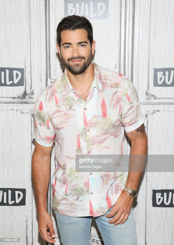 Actor Jesse Metcalfe visits Build to discuss 'Chesapeake Shores' at Build Studio on August 2, 2017 in New York City.