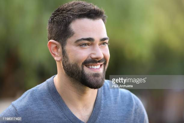 Actor Jesse Metcalfe visits Hallmark Channel's Home Family at Universal Studios Hollywood on January 08 2020 in Universal City California