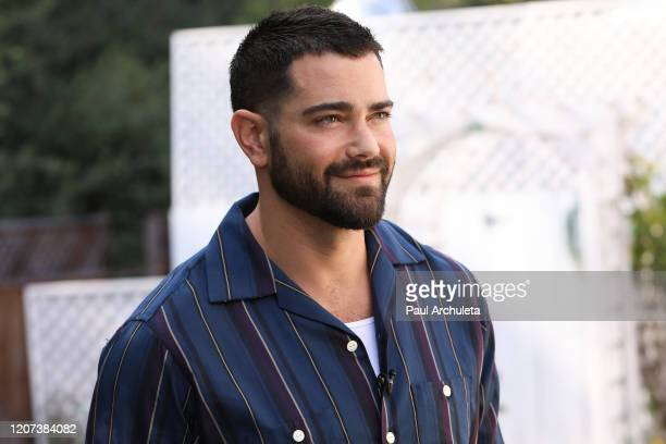 Actor Jesse Metcalfe visits Hallmark Channel's Home Family at Universal Studios Hollywood on February 19 2020 in Universal City California