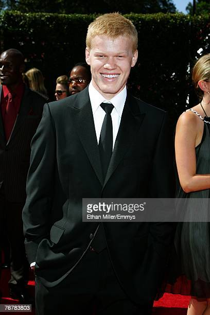 Actor Jesse Plemons arrives at the 59th Annual Primetime Emmy Awards at the Shrine Auditorium on September 16 2007 in Los Angeles California