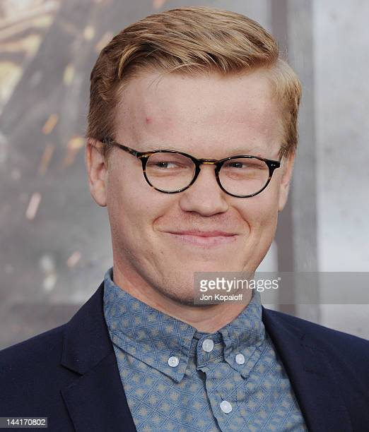 Actor Jesse Plemons arrives at the Los Angeles Premiere Battleship at the Nokia Theatre LA Live on May 10 2012 in Los Angeles California