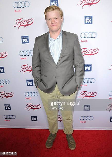 Actor Jesse Plemons arrives at the Premiere Of FX's 'Fargo' season 2 at ArcLight Cinemas on October 7 2015 in Hollywood California